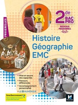 Passerelles Histoire Geographie Emc 2de Bac Pro Ed 2019