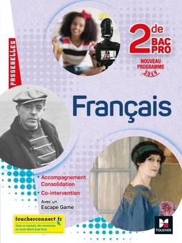 Passerelles Francais 2nde Bac Pro Ed 2019 Manuel
