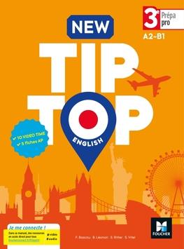 New Tip Top English 3e Prepa Pro Ed 2017 Manuel Eleve