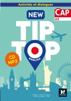 NEW TIP TOP English CAP Éd. 2019 - CD Audio